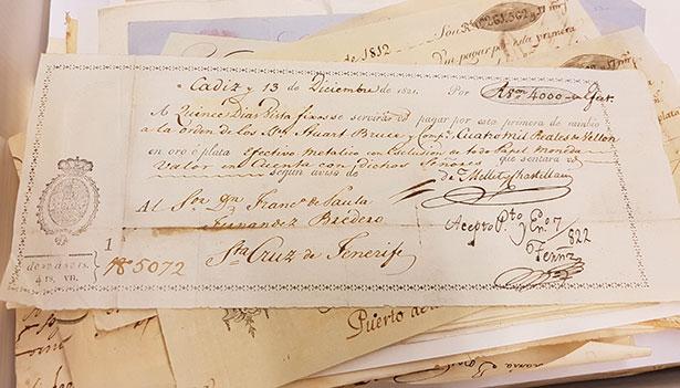 Carta de pago de 1821 | Foto: J.L.C.