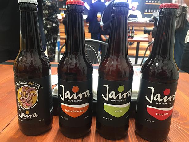 Botellas de cerveza Jaira