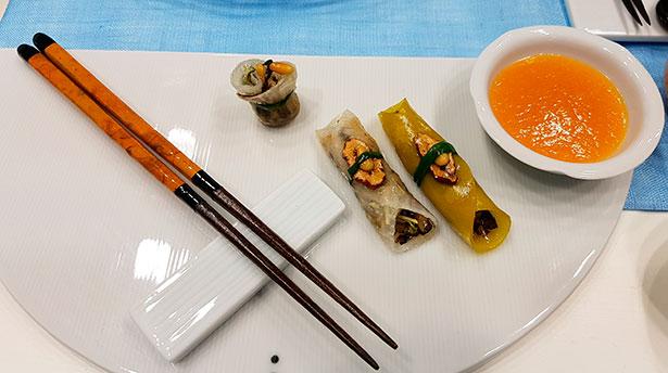 Bocados de cocina coreana | Foto: J.L.C.