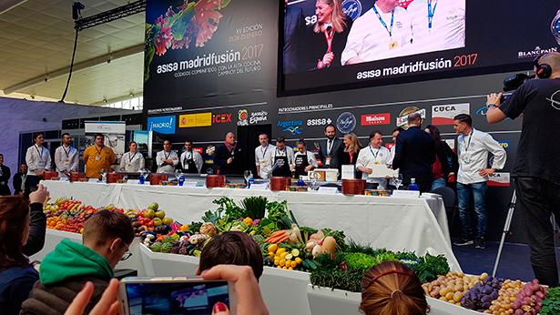 Uno de los concursos celebrados este año en Madrid Fusión | Foto: J.L.C.