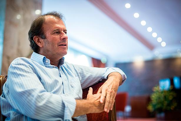 Ignacio Osborne Cólogan durante la entrevista | Foto: Andrés Gutiérrez