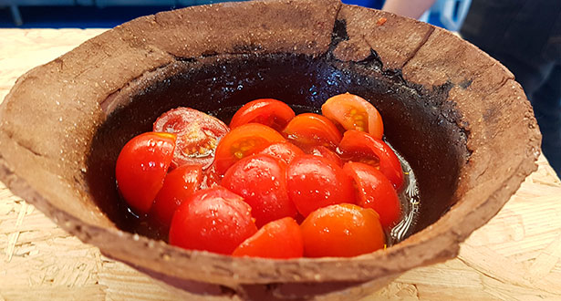 Tomates aliñados | Foto: J.L.C.