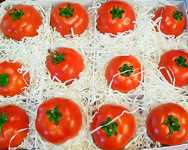 Tomates de la variedad Orone | Foto: J.L.C.