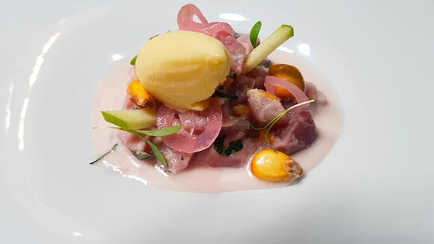 Ceviche kilinaw de atún. Restaurante Haydé | Foto: J.L.C.