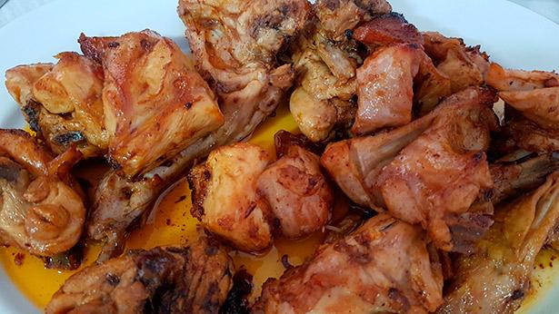 Conejo frito  de Casa Cándido | Foto: J.L.C.