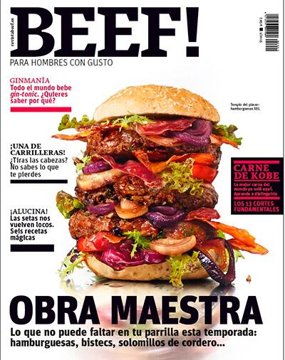 Portada de la revista Beef!