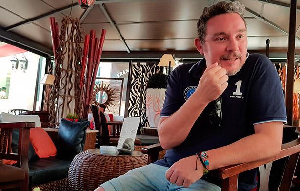 Albert Adrià, durante la entrevista | Foto: J.L.C.