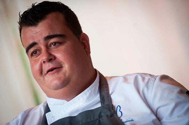 Tomás Regalado, segundo de cocina del M.B | Foto: Fran Pallero