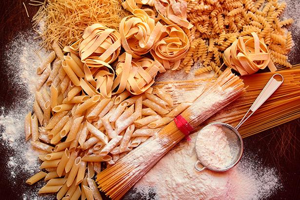 Imagen de una variedad de pastas de la Asociación de las industrias del dulce y de la pasta italiana (Aideoi)   Foto cedida.