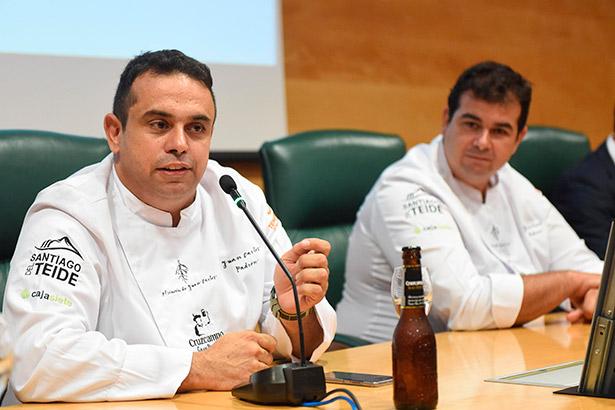 Juan Carlos y Jonathan Padrón   Foto: Sergio Méndez