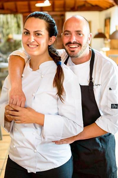 Víctor y Laura Suárez