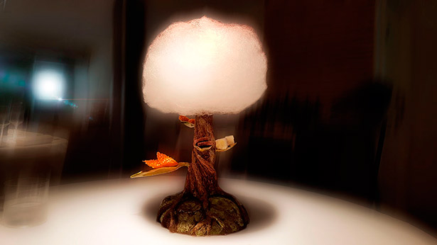 Árbol de petit fours de Jonathan Padrón | Foto: J.L.C.
