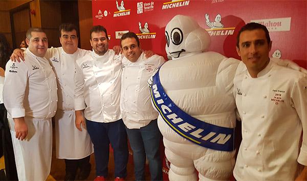 Los chefs que ya contaban con estrella Michelin en Tenerife revalidaron el galardón | Foto: J.L.C.