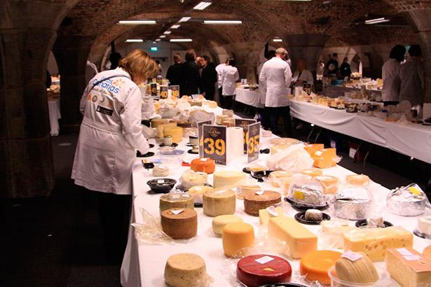 Imagen de la feria de quesos