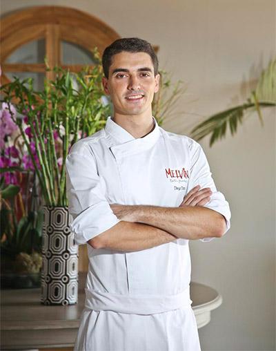 Diego Dato, jefe de cocina del establecimiento