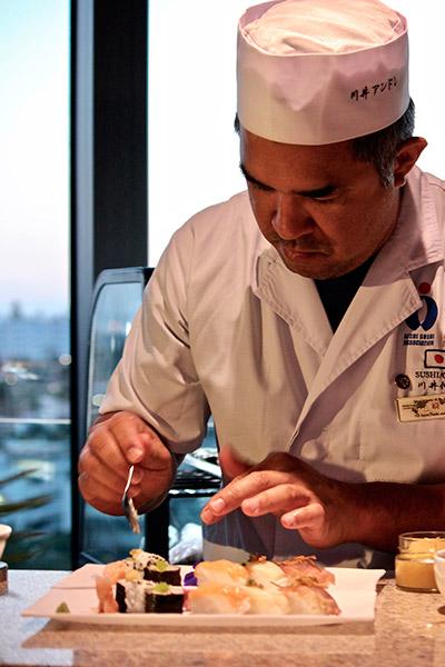 El chef Nobuyuki Kawai