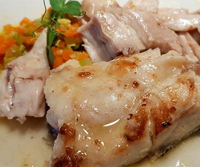 Ijada de atún del restaurante San Sebastián 57 | Foto: J.L.C.