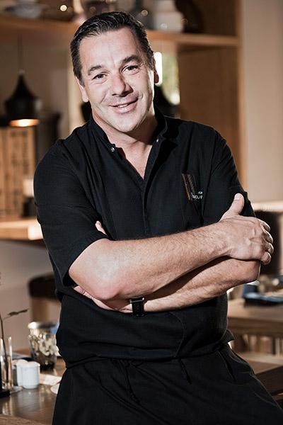 El chef belga Pierre Résimont