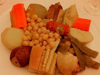 Puchero del restaurante El Coto de Antonio | Foto: J.L.C.