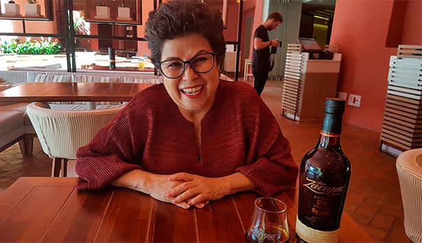Lorena Vásquez, maestra ronera de Zacapa | Foto: J.L.C.