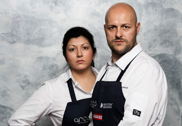 Fernanda Fuentes y Andrea Bernardi   Foto: Abel Valdenebro