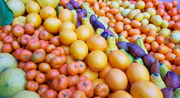 El gasto de los españoles en fruta y verdura ha subido de forma expresiva durante los últimos años   Foto: J.L.C.