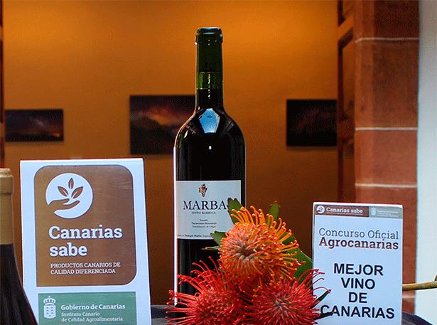 Marba Tinto Barrica, de la Denominación de Origen Tacoronte-Acentejo, Mejor Vino de Canarias 2018
