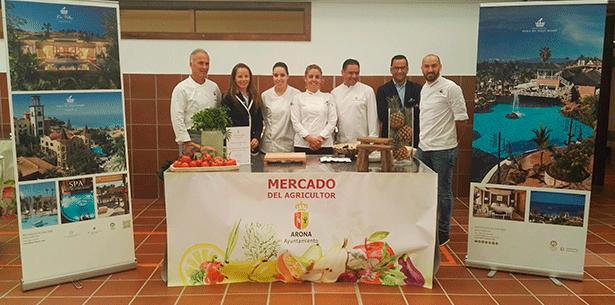 Foto de familia del equipo del Bahía del Duque en Gastrosur