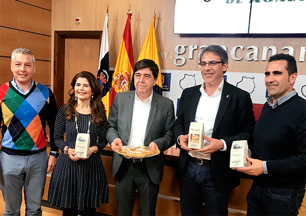 Foto de familia de la presentación de los Garapiñones