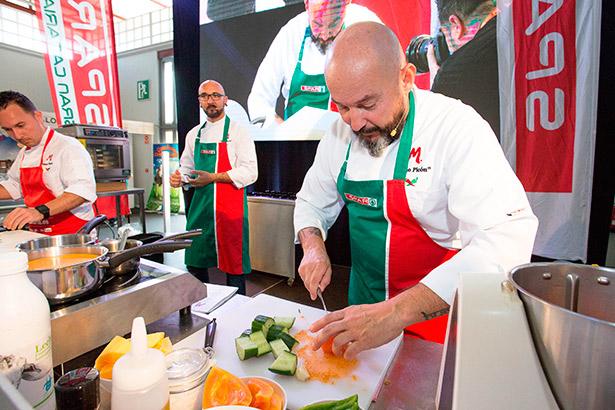 Una de las demostraciones culinarias celebradas en Gran Canaria Me Gusta