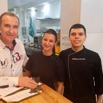 De izquierda a derecha, Fernando Molero, Alejandra Rodríguez y William Vicente Lorenzo | Foto: J.L.C.
