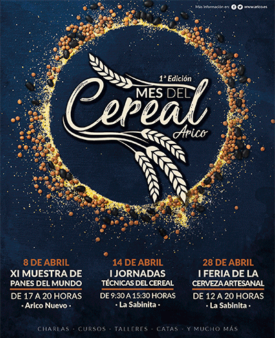 Cartel del Mes del Cereal