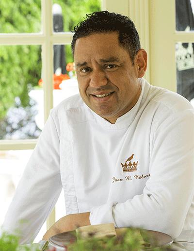 Juan Miguel Cabrera, chef ejecutivo del Bahía del Duque