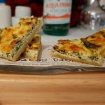 Tosta Pascualina de espinacas y ricota | Foto: J.L.C.