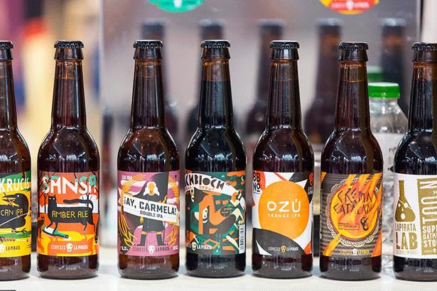 Botellas de Cerveses La Pirata, que elabora cerveza artesanal | Foto: alimentaria