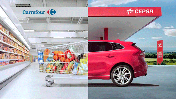 Imagen de la campaña de Carrefour y Cepsa