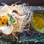 Nido de huevo de codorniz | Foto: J.L.C.