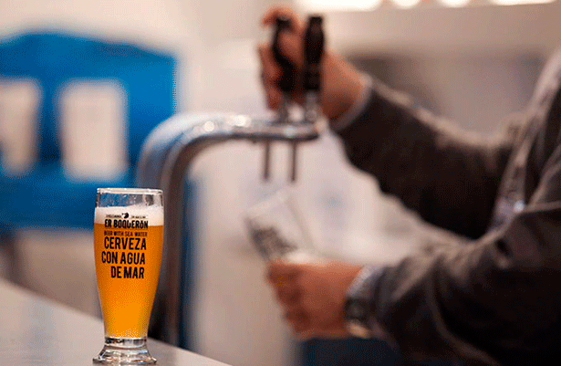 Cerveza con agua de mar | Foto: alimentaria