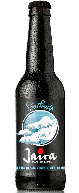 La primera cerveza del mundo elaborada con agua de nube atlántica, 'Seaclouds' Foto: Jaira Cerveza Artesanal