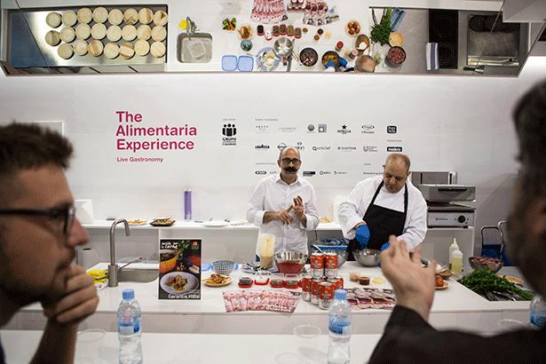 Showcooking de cocina halal en Alimentaria | Foto: alimentaria