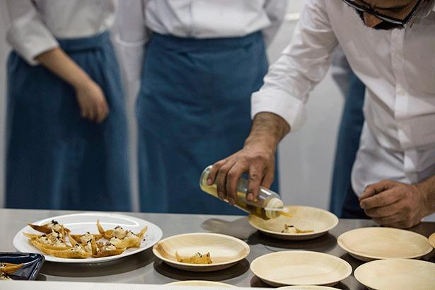 Algunos de los platos halal cocinados en Alimentaria | Foto: alimentaria