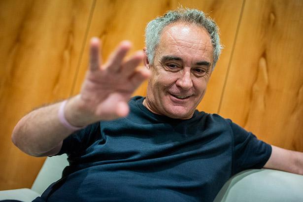 El cocinero Ferran Adrià, durante su última visita a Tenerife | Foto: A.G.