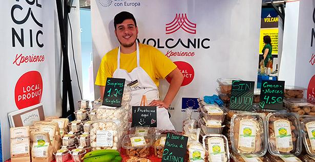 La harina de plátano verde es la base para la elaboración de los productos de Nivarina   Foto: abocados.es