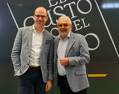 Andreas Kubach, Master of Wine, y Toño Amas, copropietario de El Gusto por el Vino | Foto: José L. Conde