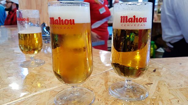 En España se consumieron 39,5 millones de hectolitros de cerveza el pasado ejercicio, lo que supuso una subida del 3,7% | Foto: J.L.C.