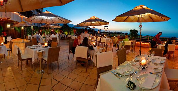 Terraza del restaurante Il Pappagayo