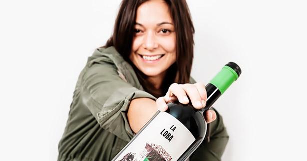 Ana Carazo, viticultora y enóloga de la bodega La Loba