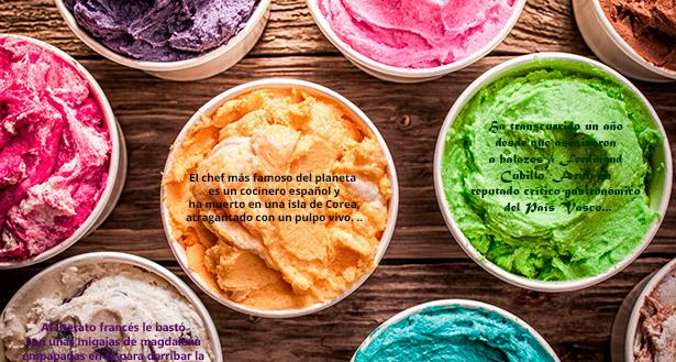 """El libro recopila relatos de seis autores y propuestas de helados para """"relacionar imágenes y recuerdos con un sabor"""""""