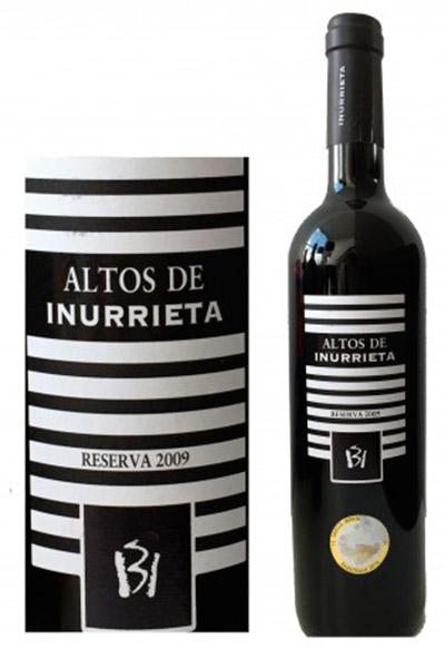 Botella de Altos de Inurrieta