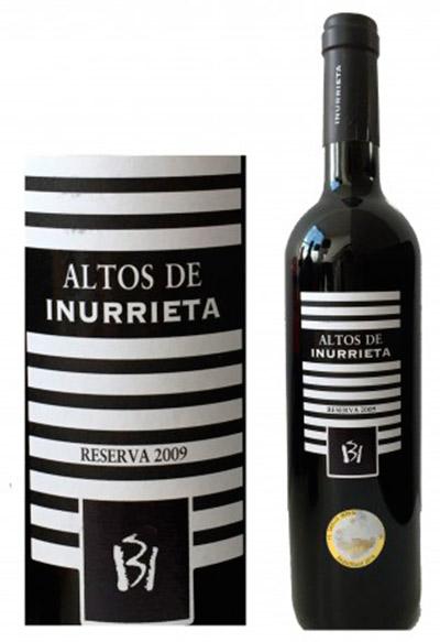 Botella de Altos de Inurrieta